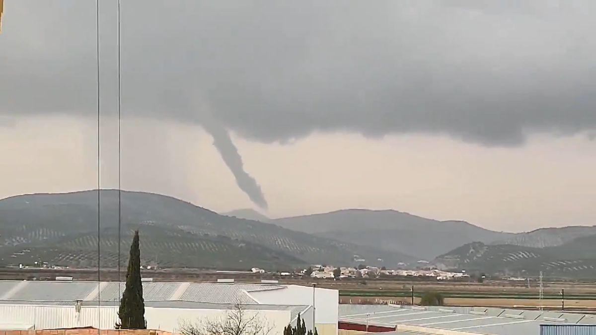 Tornado en Loja