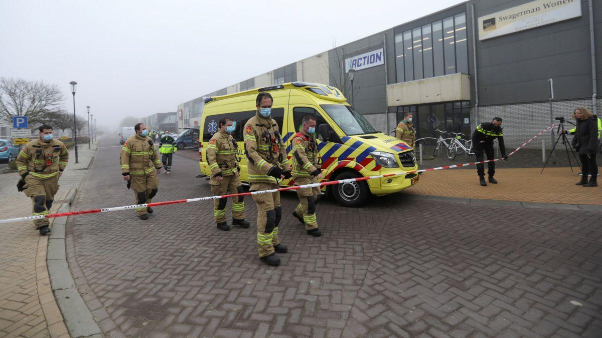 Fuerte explosión cerca de un centro de pruebas de COVID-19 en Países Bajos