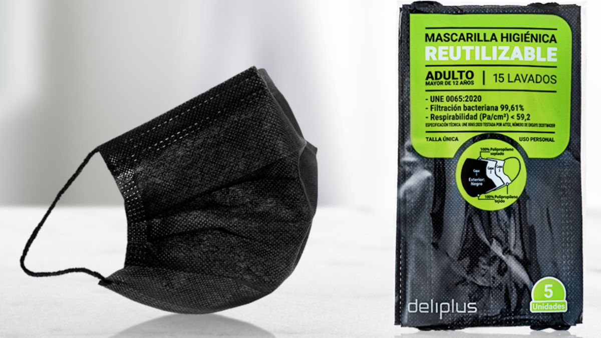 Mercadona reusable masks: Price, effectiveness and how many times they can be washed