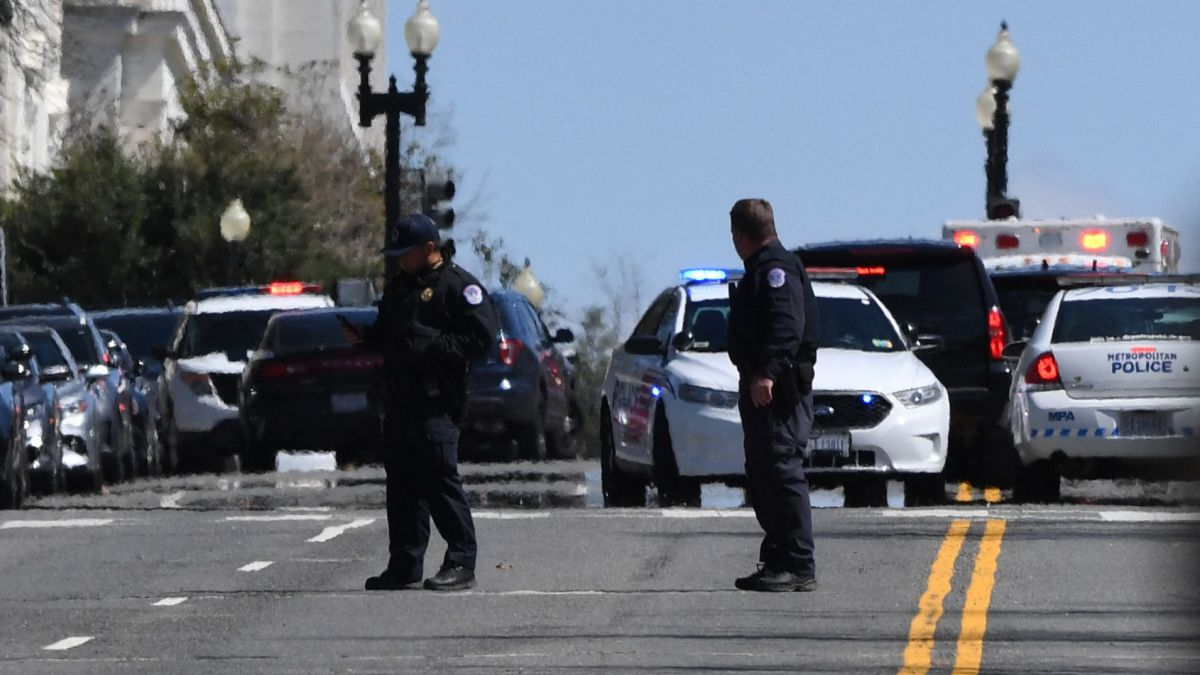 Capitol Alert: Car wounds Two Officers