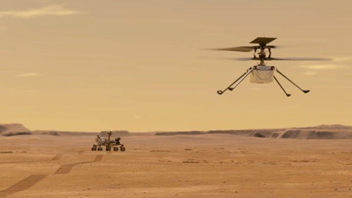 NASA's Ingenuity's First Stunts on Mars