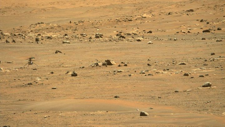 The unpublished images of the robotic arm of Perseverance on Mars