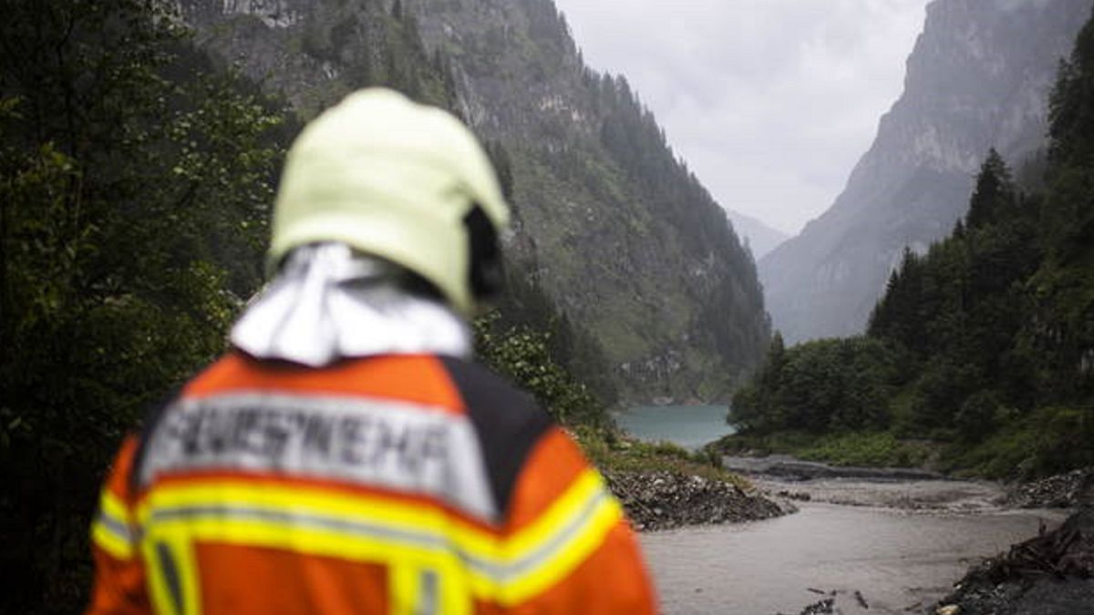 They find in Switzerland the body of the Spanish canyonist Diego Maeztu, who disappeared in August