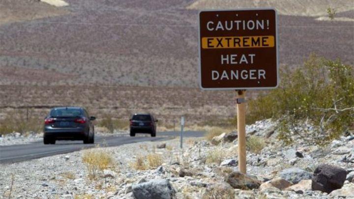 El Valle de la Muerte registra la segunda temperatura más alta de todos los tiempos: 54,4º C
