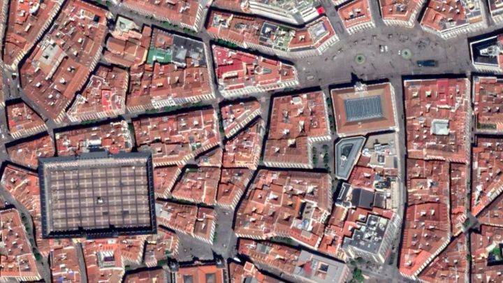 Impactantes imágenes del confinamiento en Google Earth