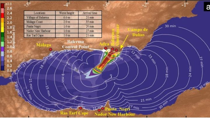 Tsunami en Andalucía