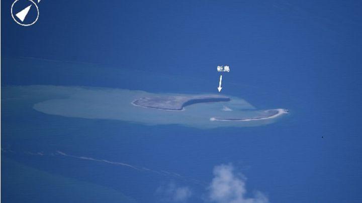 La nueva isla de Japón tras una erupción volcánica submarina