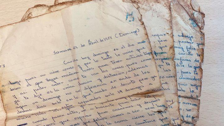 La emotiva carta de un soldado a su novia que ha aparecido en la basura tras casi medio siglo