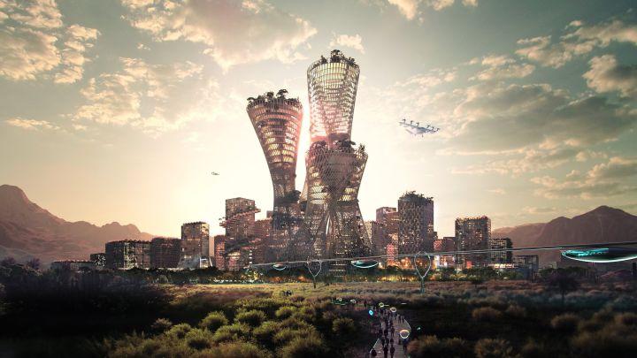 Así será Telosa, la ciudad futurista que se alzará en Estados Unidos