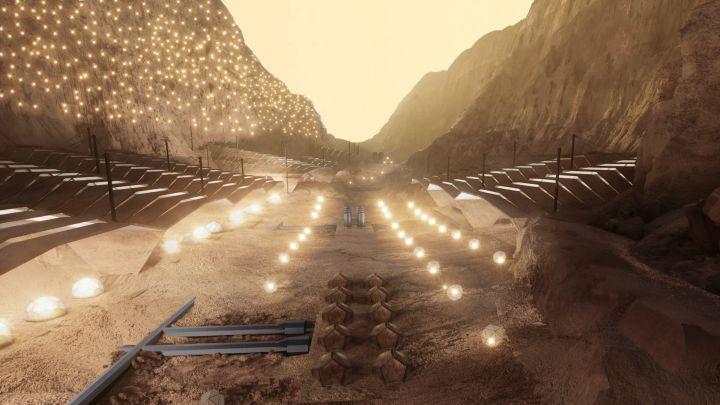 Nüwa, así es el proyecto de una ciudad en Marte