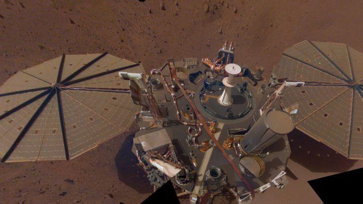 El Insight de la NASA detecta tres terremotos en Marte