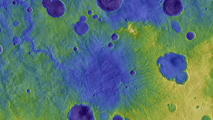 Un estudio revela el posible origen de la superficie de Marte