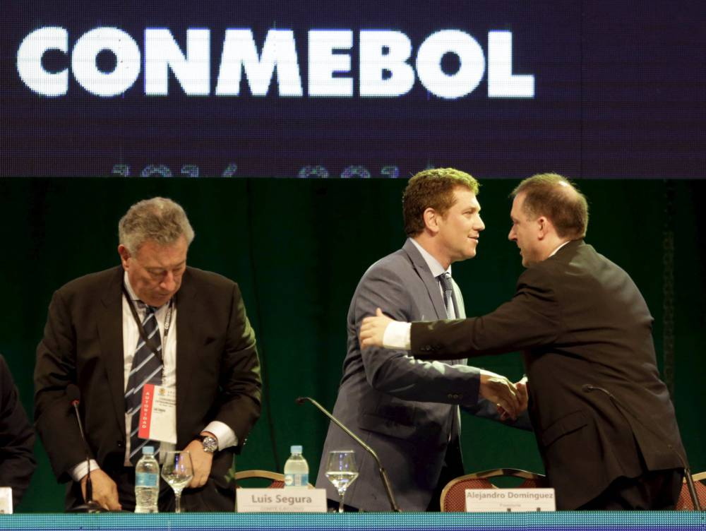 Conmebol elects Alejandro Domínguez to top job