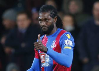 Adebayor confident at Palace