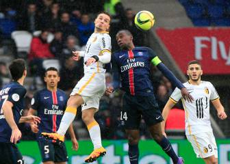 Lille bring PSG's 16-match winning streak to a halt