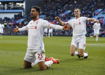 Sturridge leads line in Villa rout