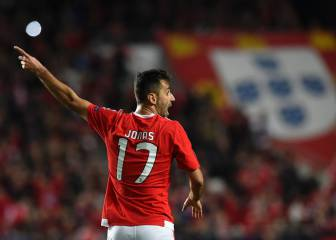 Late late show from Jonas seals Benfica win over Zenit