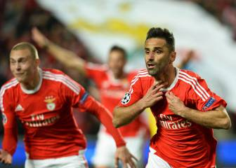 Jonas snatches stoppage time winner for Benfica
