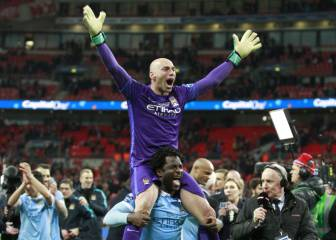 Willy rises to the occasion to hand City the Capital One Cup