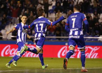 Cartabia brings up Deportivo's 2000th goal in LaLiga