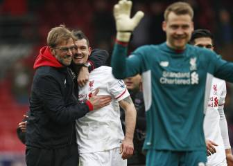 "Klopp cheers Liverpool's ""passion"" after fightback"