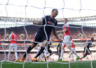 Holders Arsenal knocked out of the FA Cup by Watford
