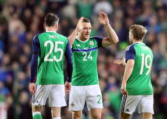 Washington helps Northern Ireland make history