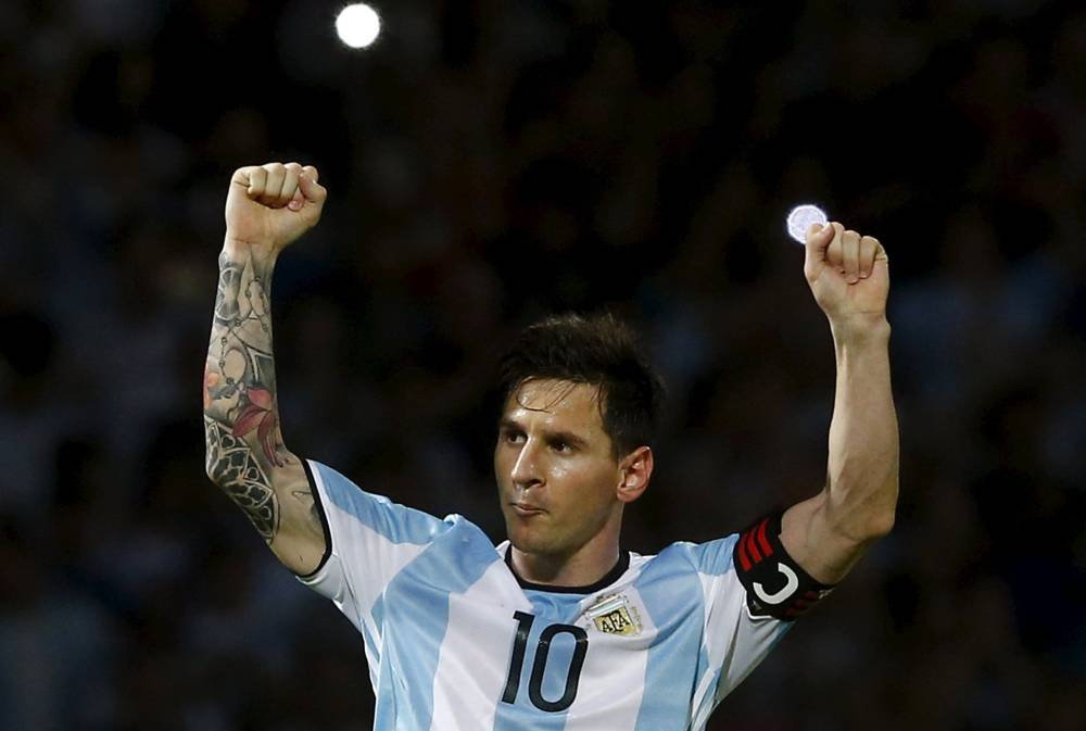 Messi hits 50th in Argentina win as Brazil snatch draw