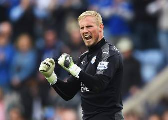 Leicester not getting carried away, insists Schmeichel