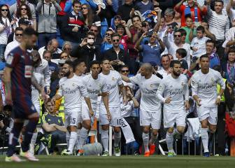 Real Madrid warm up for Wolfsburg with Eibar stroll
