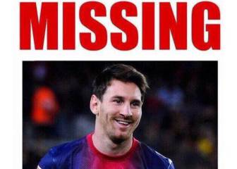 'Search party for Messi' and other marvellous memes