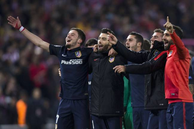 Barcelona Knocked Out Of The Champions League 2015 16 By Atletico Madrid As Com