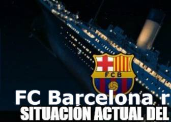 The Titanic and other Barcelona memes
