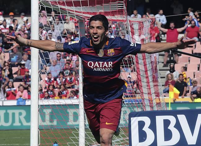 Suarez Wins Pichichi 2015 16 Award