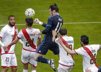 Real Madrid rain on Rayo's parade in Vallecas
