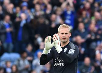 Another Schmeichel title triumph at Old Trafford?