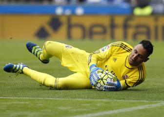 Keylor Navas keen to renegotiate his contract