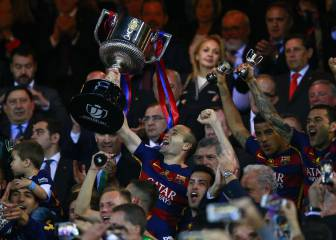 Battling Barça beat Sevilla to Copa and seal domestic double