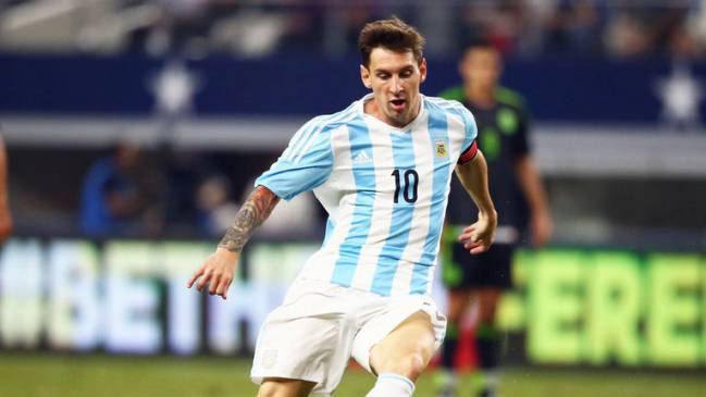 Messi will be playing at the Copa América