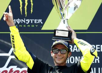 Rossi hails 'one of my best' at sombre Catalonia