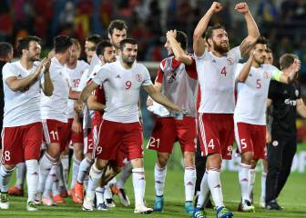 Spain's unbeaten run ends against stubborn Georgia