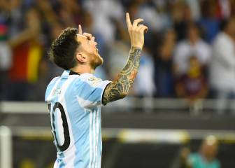 Messi fires hat-trick as Argentina cruise into quarters