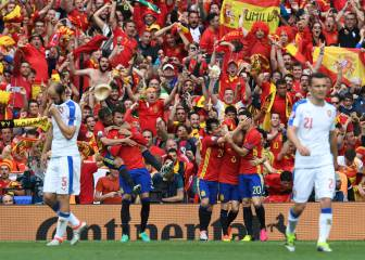 Spain 1 - 0 Czech Republic: AS English's men of the match
