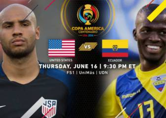 USA - Ecuador: How and where to watch
