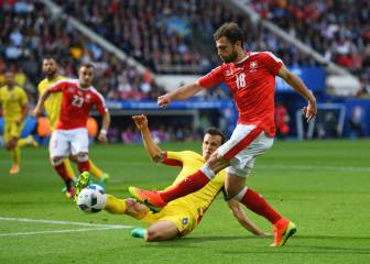 Switzerland edge closer to last 16 after Romania draw