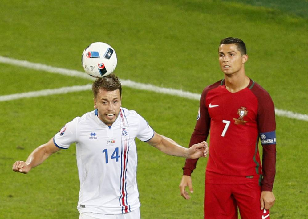 "Iceland hit back at ""ungracious"" and ""sore loser"" Ronaldo"