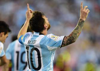 Messi matches Batistuta record in Venezuela Copa rout