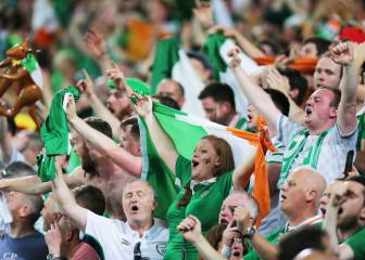 Italy 0-1 Ireland: as it happened