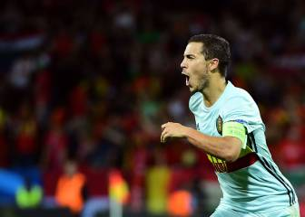 Hazard overjoyed to be meeting Wales next