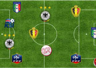 The best XI from the last 16